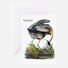 Audubon Great Blue Heron Greeting Card