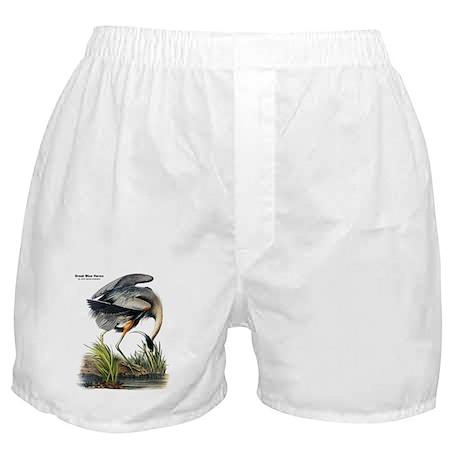 Audubon Great Blue Heron Boxer Shorts