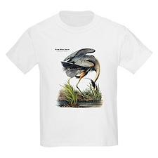 Audubon Great Blue Heron (Front) T-Shirt