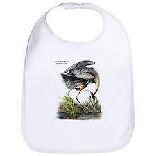 Audubon Great Blue Heron Bib