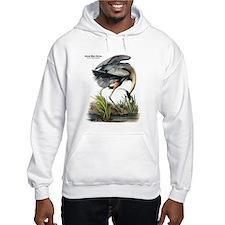 Audubon Great Blue Heron (Front) Hoodie