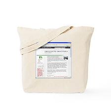 Blog Page Tote Bag