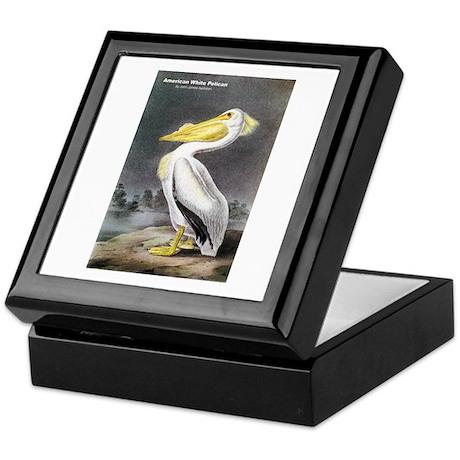 Audubon American White Pelican Keepsake Box