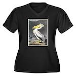 Audubon American White Pelican (Front) Women's Plu