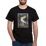 Audubon American White Pelican (Front) Dark T-Shir