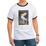 Audubon American White Pelican (Front) Ringer T