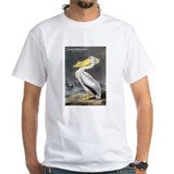 Audubon bird Mens White T-shirts