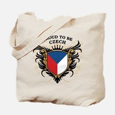 Proud to be Czech Tote Bag