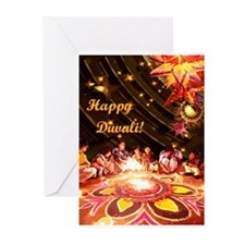 Diwali Greeting Cards (Pk of 10)