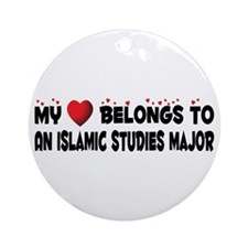 Belongs To An Islamic Studies Major Ornament (Roun