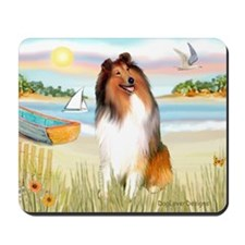 Rowboat / Collie (s) Mousepad