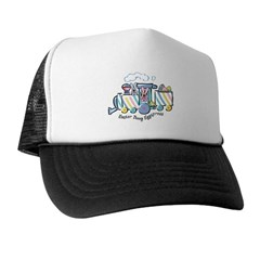 Easter Bunny Eggspress Trucker Hat