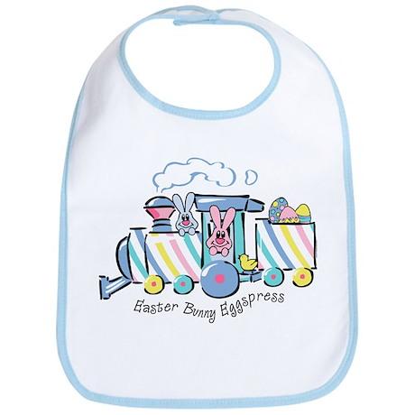 Easter Bunny Eggspress Bib