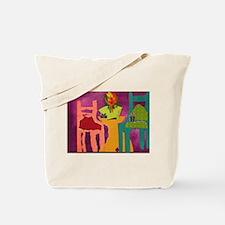 Meet and TALK Tote Bag