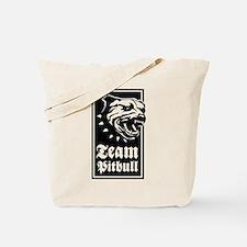 Team Pitbull Tote Bag