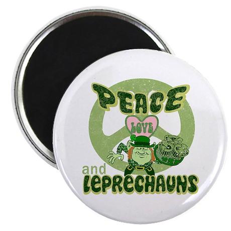 "Peace Love and Irish Folklore 2.25"" Magnet (100 pa"