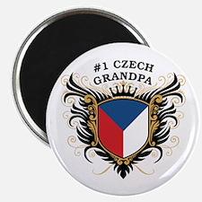 Number One Czech Grandpa Magnet