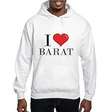 I Love Barat Hoodie