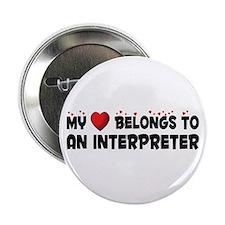 """Belongs To An Interpreter 2.25"""" Button"""