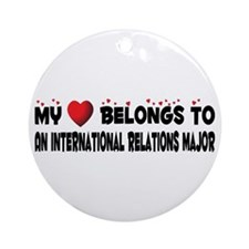 Belongs To An International Relations Major Orname