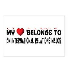 Belongs To An International Relations Major Postca
