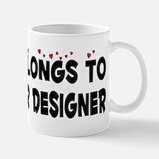 Belongs To An Interior Designer Mug