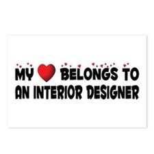 Belongs To An Interior Designer Postcards (Package