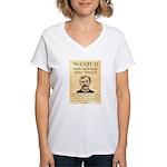 King Fisher Women's V-Neck T-Shirt