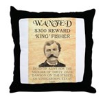 King Fisher Throw Pillow