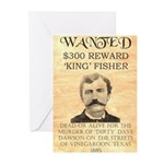 King Fisher Greeting Cards (Pk of 20)