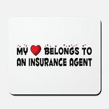 Belongs To An Insurance Agent Mousepad