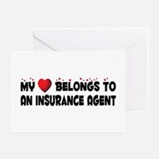 Belongs To An Insurance Agent Greeting Card