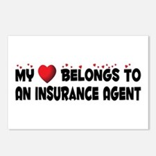 Belongs To An Insurance Agent Postcards (Package o