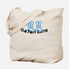 Twins First Easter B&P Tote Bag