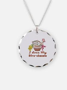 I Love My Afro-chausie Desig Necklace