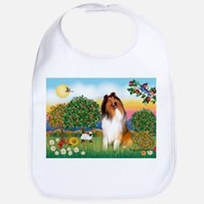 Appletrees / Collie (s) Bib