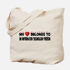 Belongs To An Information Technology Person Tote B