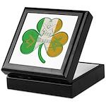 The Masons Irish Clover Keepsake Box