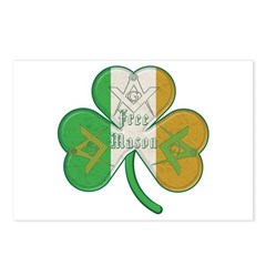 The Masons Irish Clover Postcards (Package of 8)