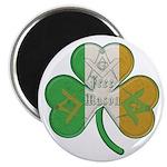 The Masons Irish Clover Magnet