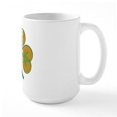The Masons Irish Clover Large Mug