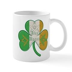 The Masons Irish Clover Mug