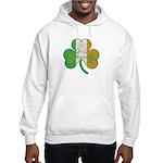 The Masons Irish Clover Hooded Sweatshirt