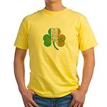 The Masons Irish Clover Yellow T-Shirt