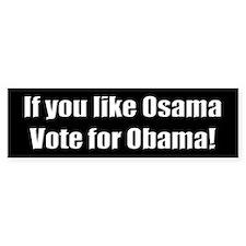 Anti-Obama Foreign Policy Bumper Bumper Sticker
