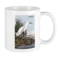 Audubon Snowy Egret Bird Mug