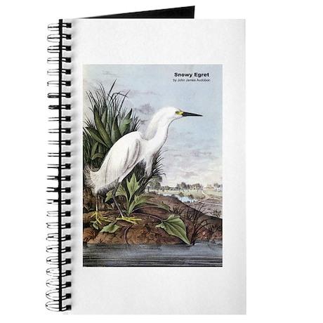 Audubon Snowy Egret Bird Journal
