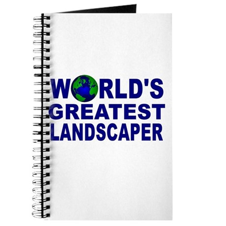 World's Greatest Landscaper Journal