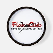 Psoriasis Flakeclub Wall Clock