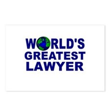 World's Greatest Lawyer Postcards (Package of 8)